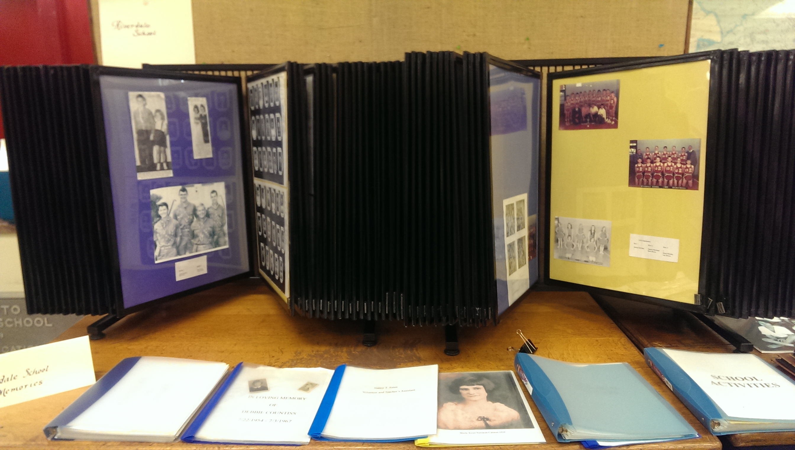 Riverdale History Photo Display